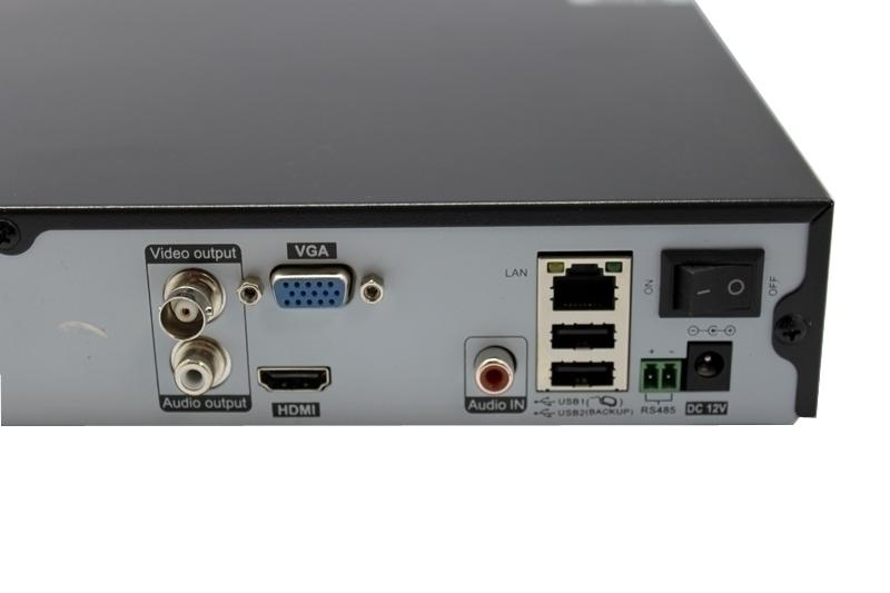 Мрежово 4 канално, устройство за IP камери, модел NVR ES-N5004
