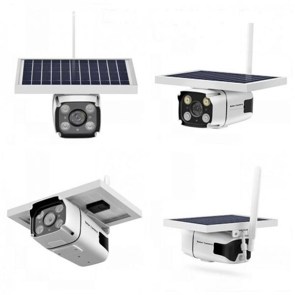 IP Камера със соларен панел, 4G модул, 3MPX, FULLHD, модел Watchmen