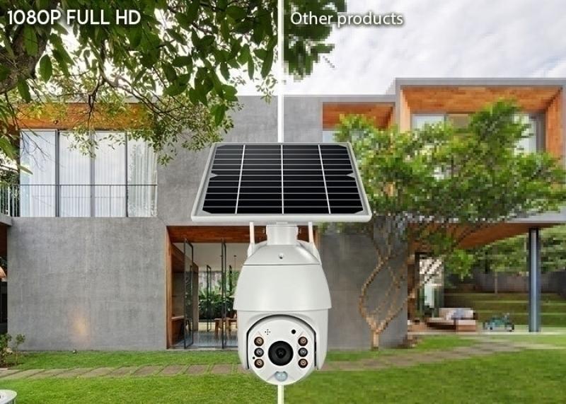 4G външна PTZ камера със SIM карта с вграден соларен панел и вградени Li-ion батерии, 2MP, модел UBoX